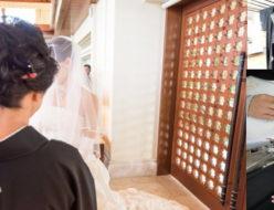 結婚式の留袖