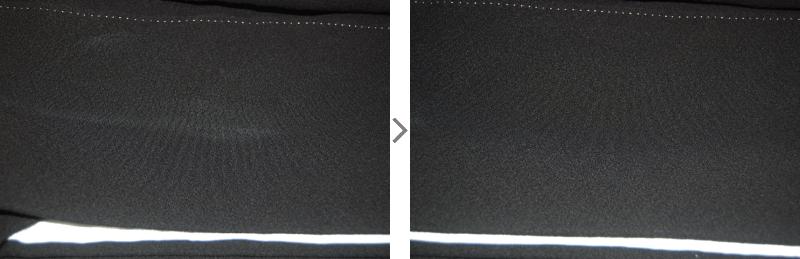 黒留袖ファンデーション汚れ