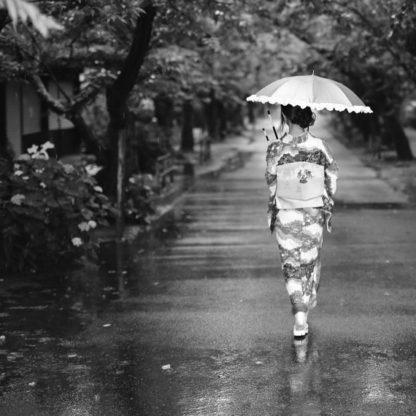 雨で着物が濡れた時